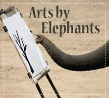 Art by Elephants Elephant Painted Gifts and Elephant Facts